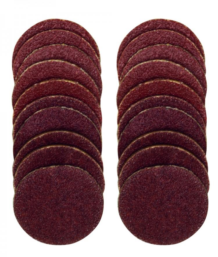 Proxxon 28982 Gummiteller 18 mm mit Schleifscheiben 10 Stück