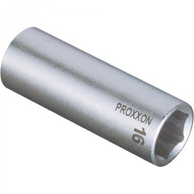 PROXXON 23442 Zündkerzen Nuss mit TPR Einlage 16mm Antrieb 12,5mm(1/2 )