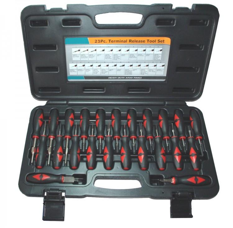 ASTA A-518B Satz Entriegelungswerkzeug Auspinwerkzeug KfZ Kabel Stecker 23 teilig