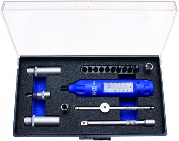 BGS 8889 Werkzeugsatz für Reifendruck-Sensoren RDKS TMPS 19 teilig