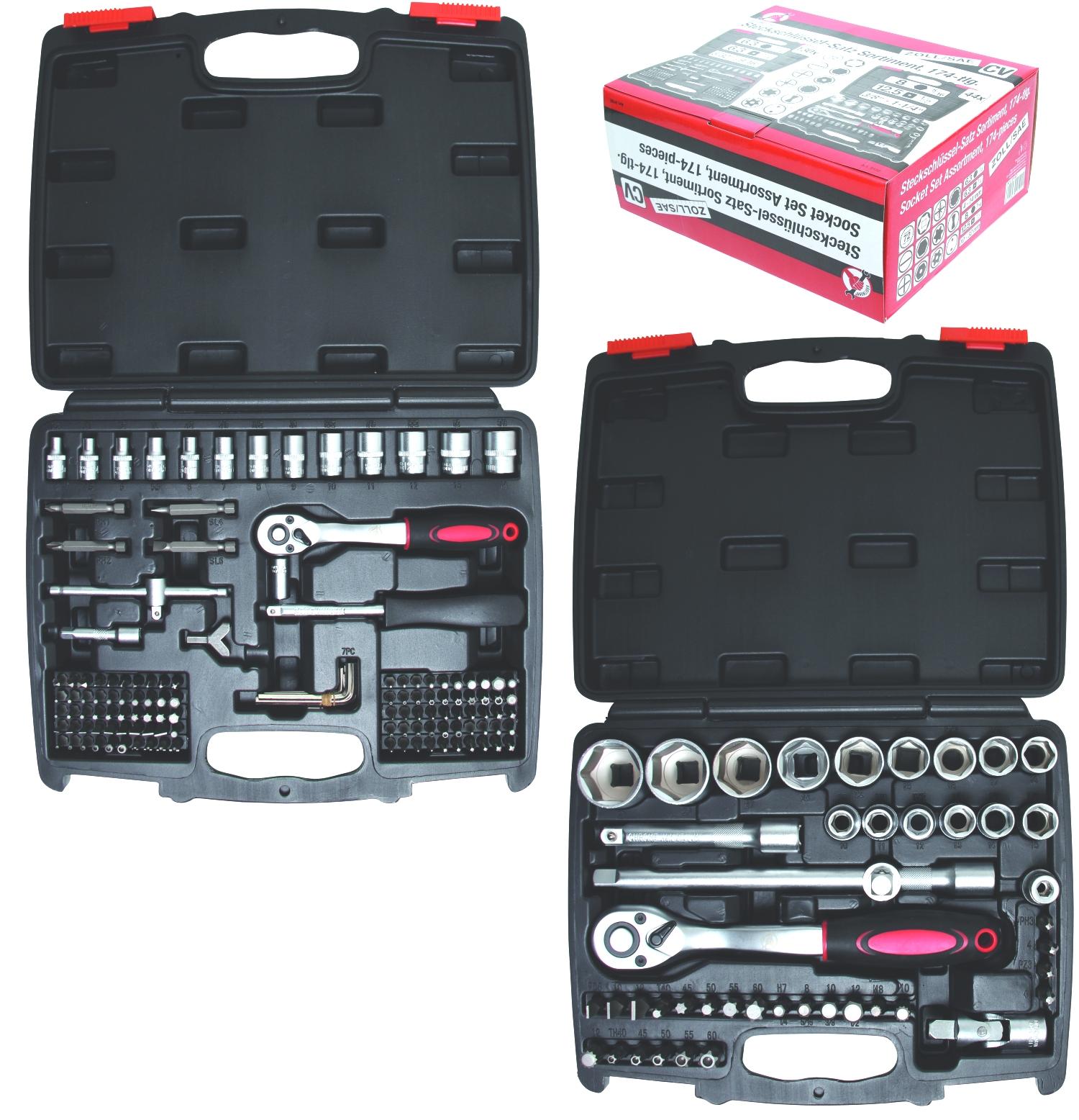 Torx Bit T30 Schrauben Werkzeug Nuss Steckschlüssel 3//8 Zoll 10 mm Sechskant BGS