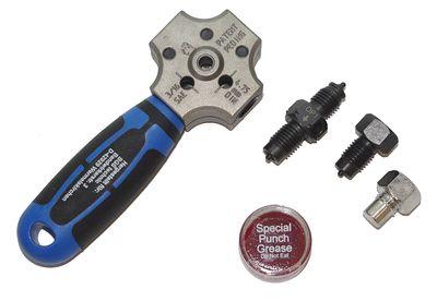 BGS 8918 KFZ Bördelgerät für 4,75mm DIN & SAE Bördelung an Bremsleitungen