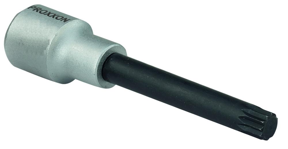 """PROXXON 23373 Vielzahn XZN Einsatz Bit Nuss VZ12 Länge 100mm Antrieb 12,5mm (1/2"""")"""