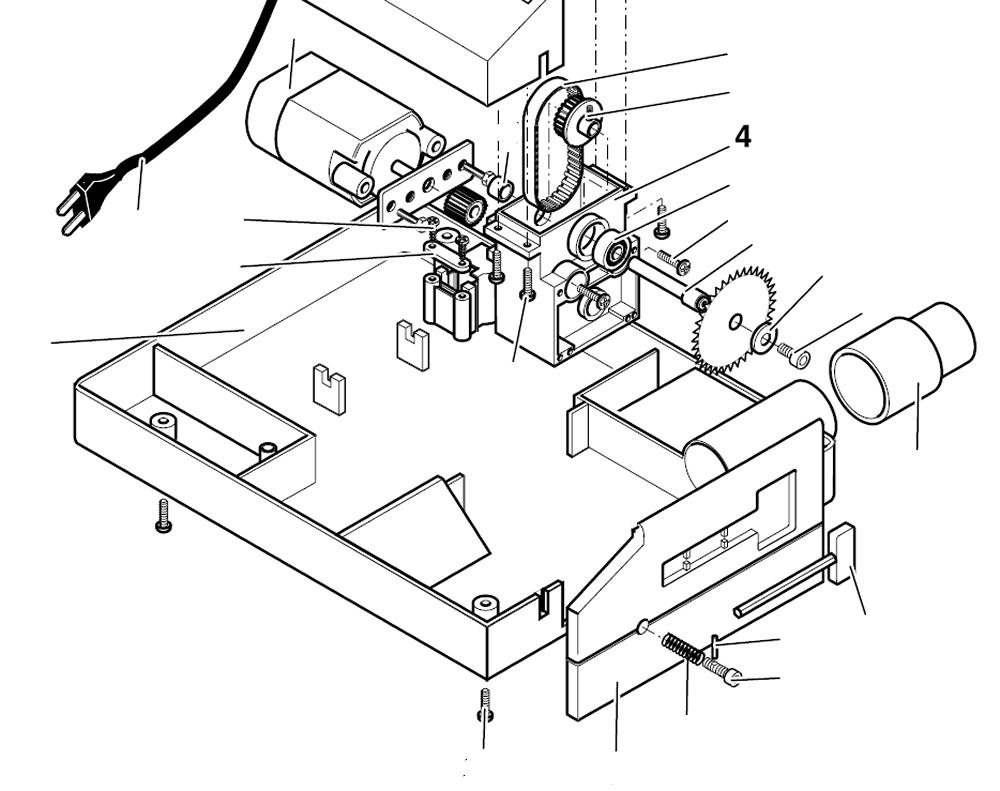 PROXXON 27006-04 Getriebegehäuse für Tischkreissäge KS230 27006-4