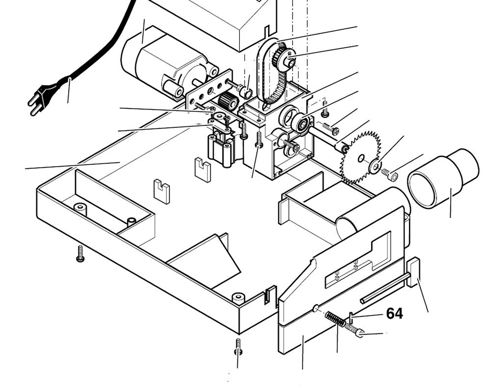 PROXXON 27006-64 Stift für Tischkreissäge KS230