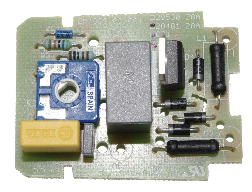PROXXON 28660-31 Gleichrichterplatine Platine für Winkelpolierer WP/E