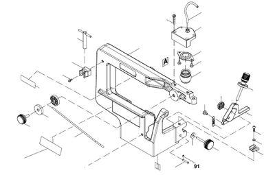 PROXXON 27094-91 Sicherungsring für Dekupiersäge DS460