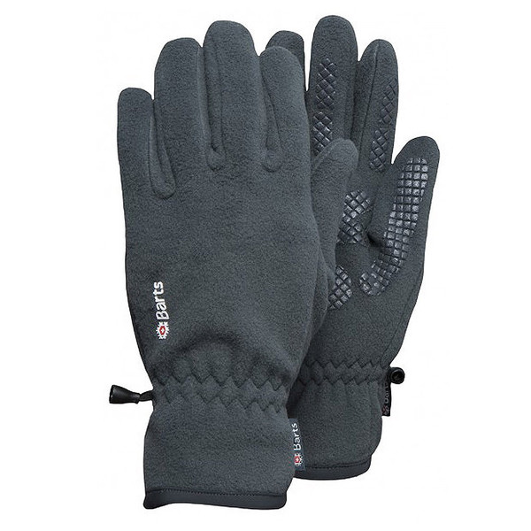 Barts Fleece Handschuhe Anthrazit