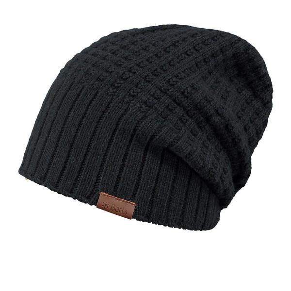 Barts Herren Mütze Hudson Beanie schwarz