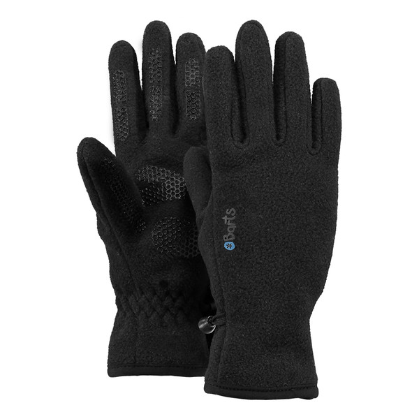 Barts Kinder Handschuhe Fleece Gloves Kids schwarz