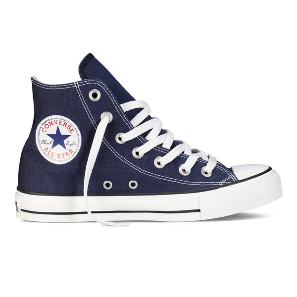 Converse Unisex Chuck Taylor All Star Hi Sneaker Classic High Navy (blau)