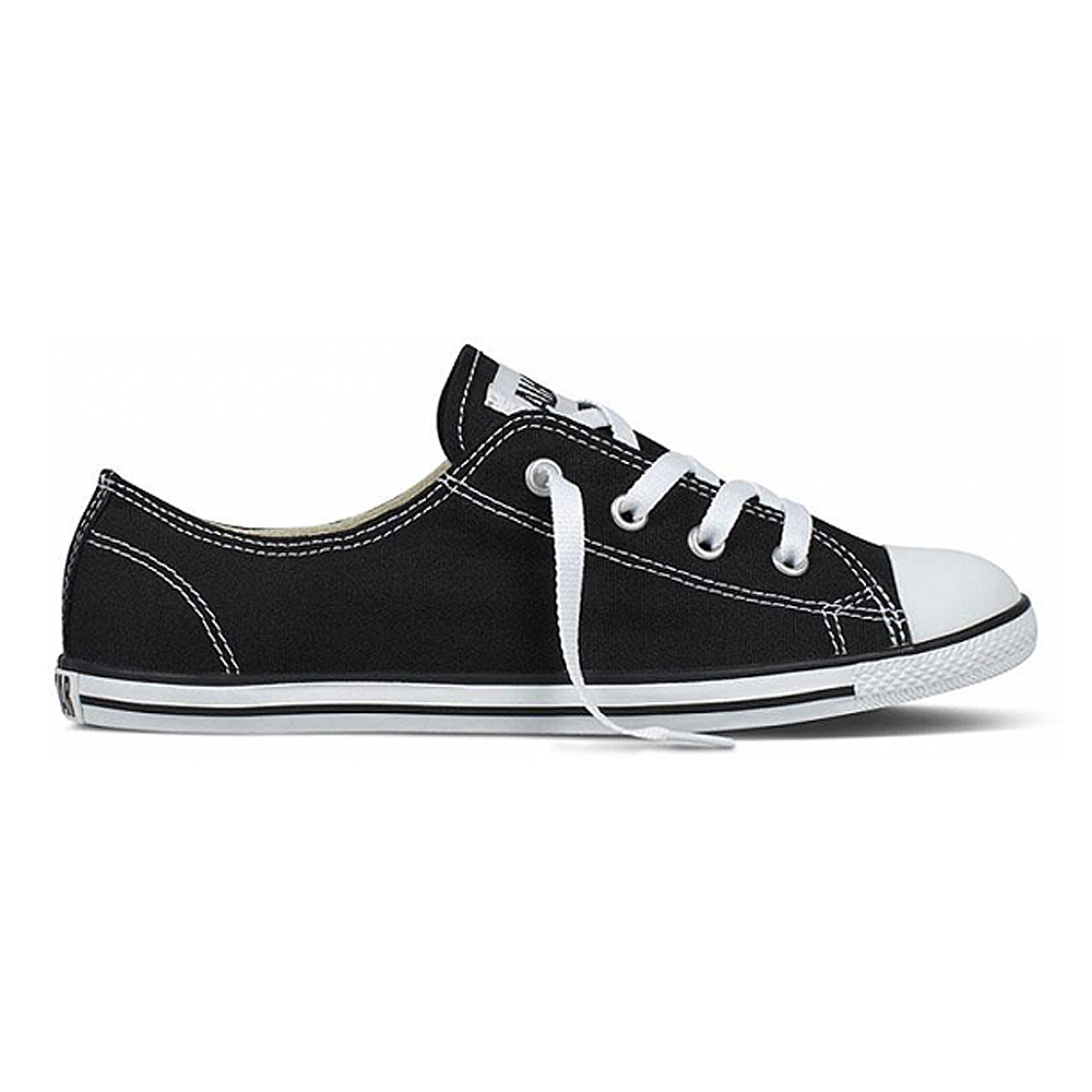 Converse Women's Chuck Taylor All Star Dainty Low Top in Black