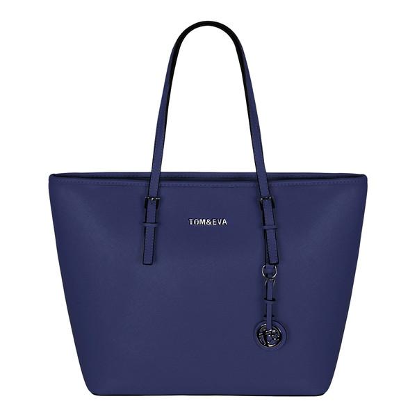 Tom & Eva Damen Tasche 6228F TE-Jet Set Travel Bag Blue (blau)