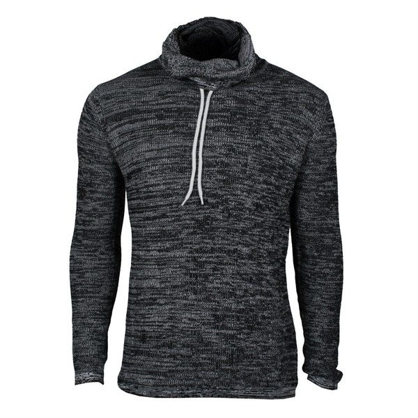 Solid Regis Strickpullover black