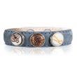 Noosa petite Damen Armband wrap classic skinny Denim (blau)