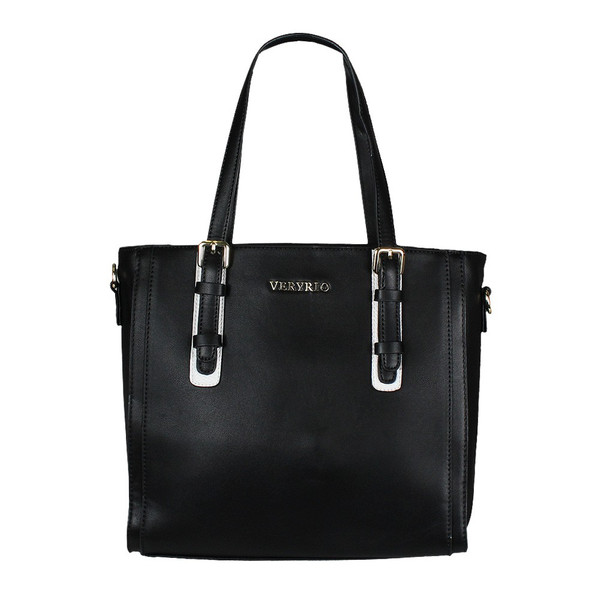 Max & Enjoy Straight Damen Shopper Schwarz