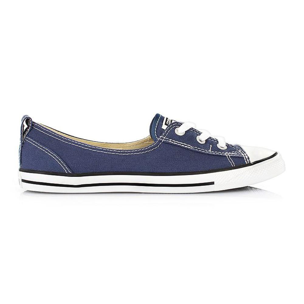 8b35234041afb4 Converse Chuck Taylor Ballet Lace Slip Sneaker navy