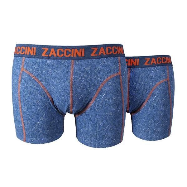 ZACCINI Boxershorts 2-er Pack - Blue Jeans