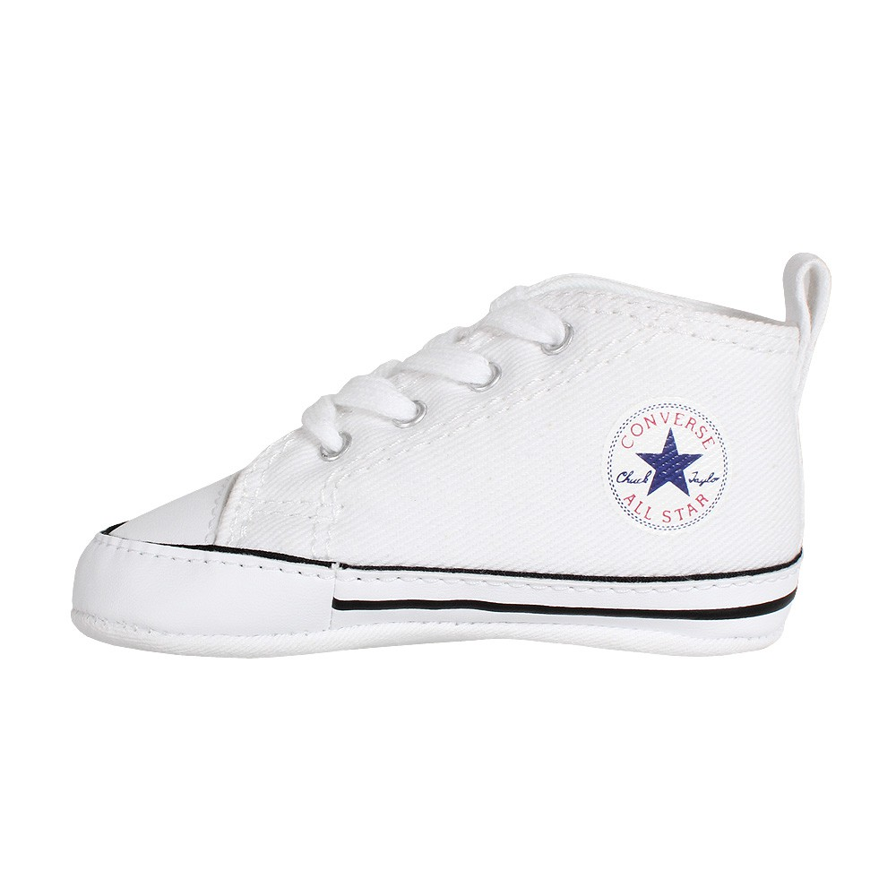 Details about Converse Baby Chuck Baby Shoes Boots First Star Hi Gift Box White