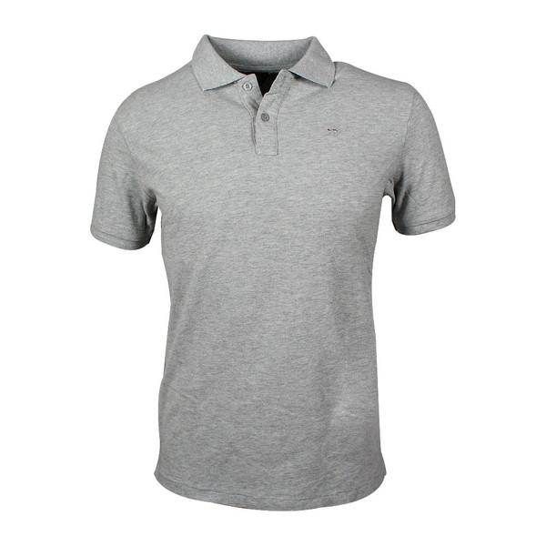 SCOTCH & SODA Garment-dye Poloshirt grau