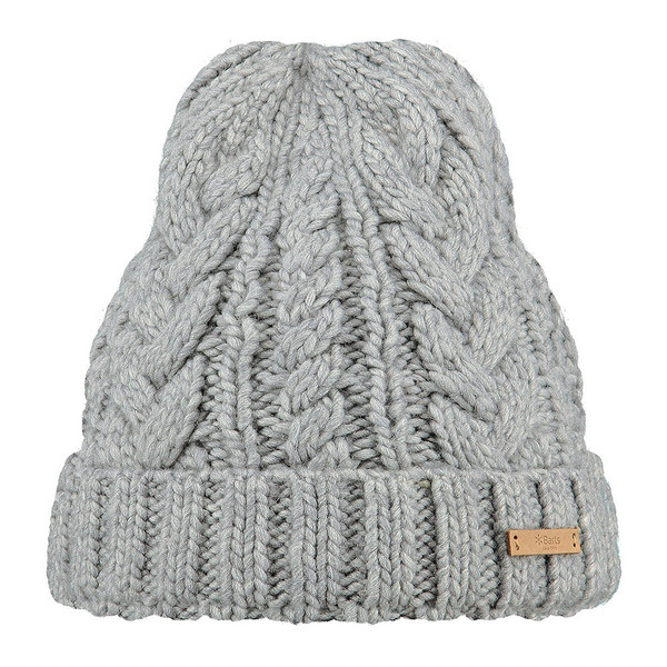 Barts Somme Beanie heather grau