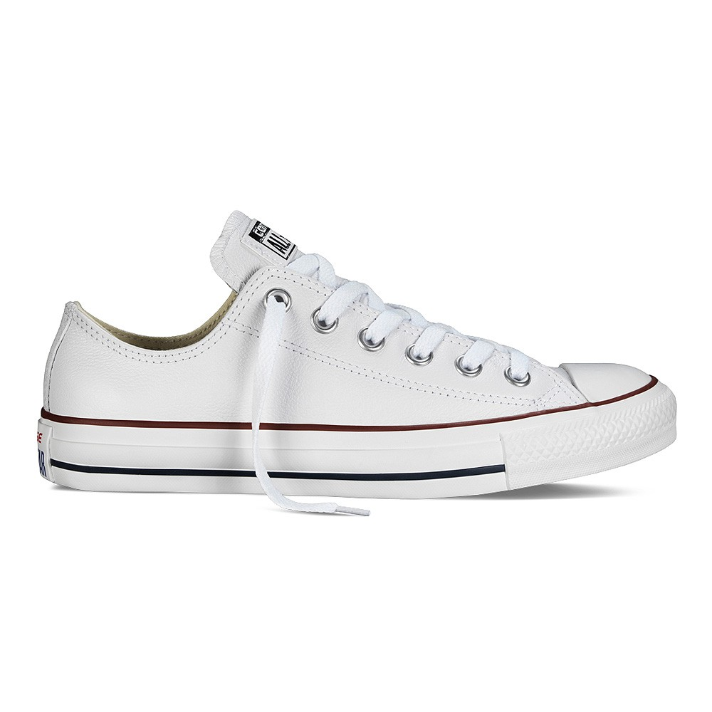 Converse Chuck Taylor All Star Sneaker Leder Ox Low White (weiß) | Modefreund Shop