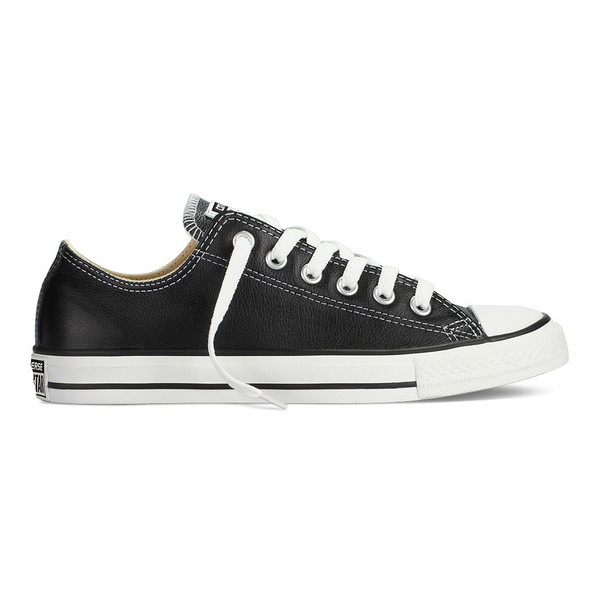 Converse Chuck Taylor All Star Sneaker Leder Ox Low Black (schwarz)