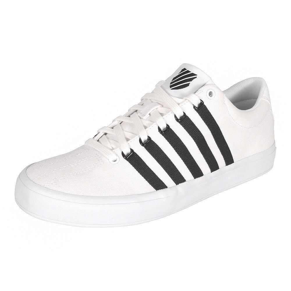 uk availability f9c59 3302b K-Swiss Herren Sneaker Court Pro Vulc white/black (weiß schwarz)