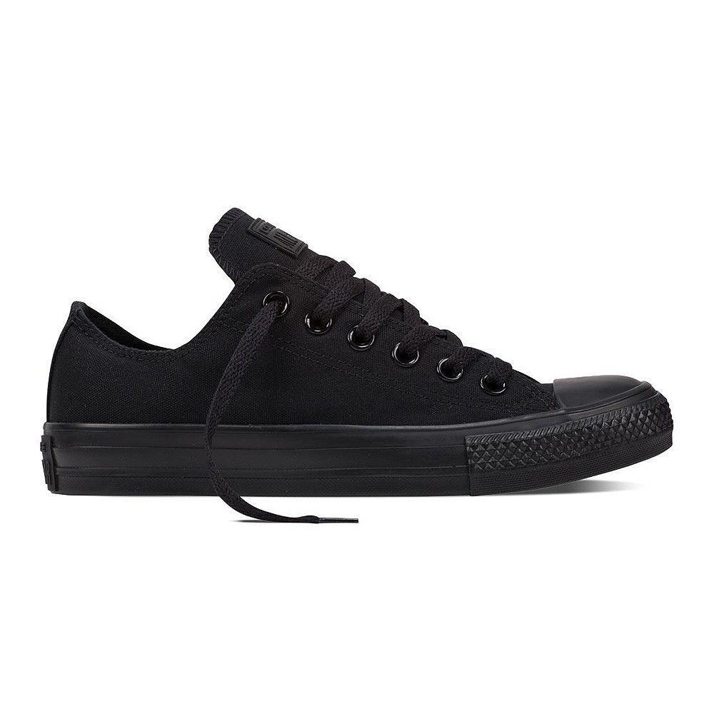 Details about Converse Chuck Taylor all Star Trainers Low Ox Black Monochrome (Black) New