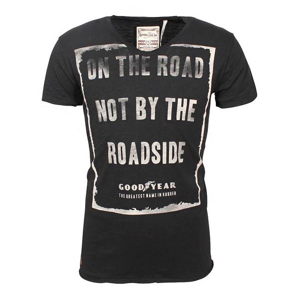 Goodyear Herren T- Shirt Galesburg Black (schwarz)