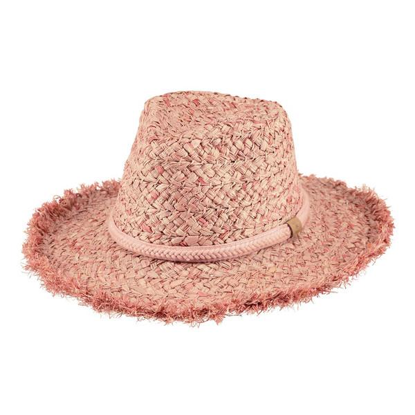 Barts Damen Strohhut Creyfuss Hat Dusty Pink (rosa)