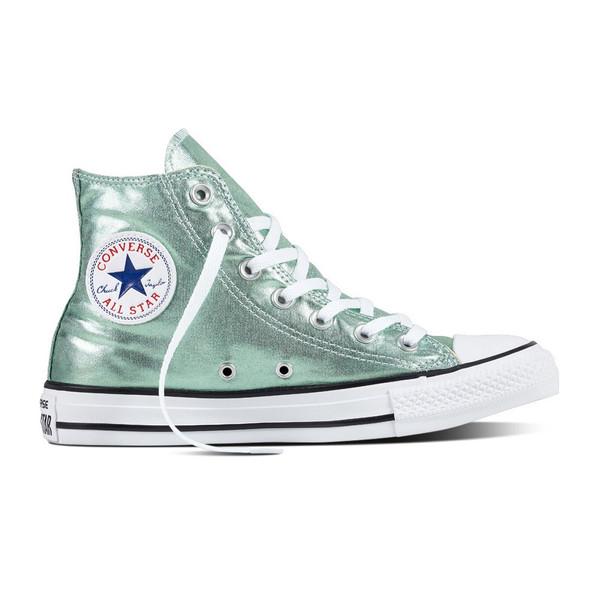 Converse Damen Schuh Chuck Taylor HI Jade/ black/ white (grün)