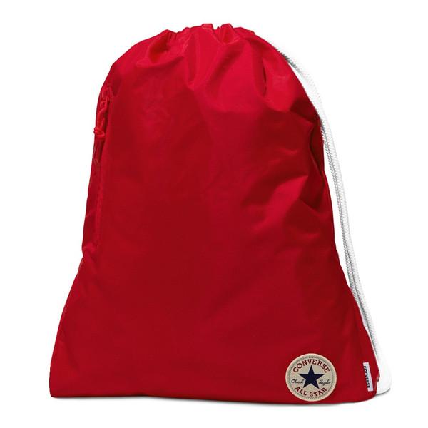Converse Unisex Turnbeutel Sport Freizeit Tasche Gym Bag Chinch Red (rot)