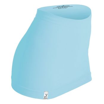Kidneykaren Nierenwärmer Basic- Tube Multifunktion Yogagurt Fitness & Freizeit Aquamarine (blau) + giftcard