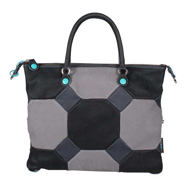 Gabs Damen Handtasche G3-I17 PKPK 3559 NFG Tg. M (grau schwarz)