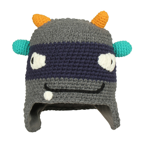 Barts Kinder Mütze Monster Beanie Dark Heather (grau)