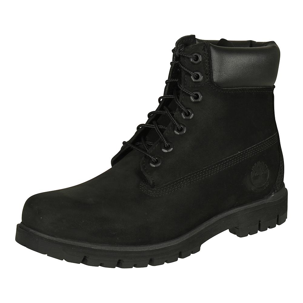 3098f40964acf Details zu Timberland Herren Stiefel Radford 6-Inch Waterproof Boot LEDER  Schuhe schwarz