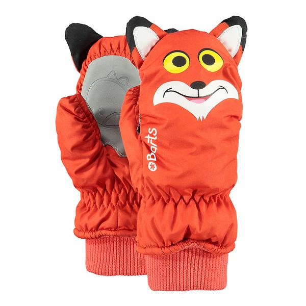 Barts Kinder Handschuhe Nylon Mitts 3D Orange (Fuchs)