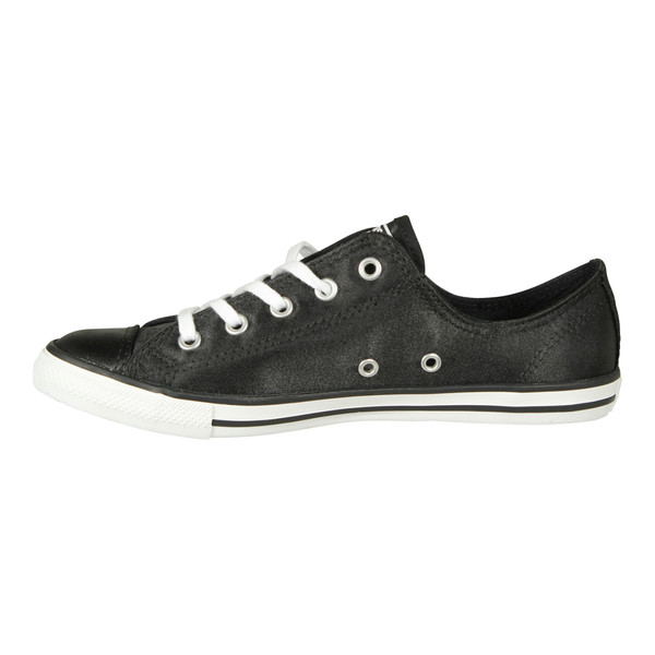 Converse Damen Sneaker Chuck Taylor All Star Dainty Low Ox Black White (schwarz)