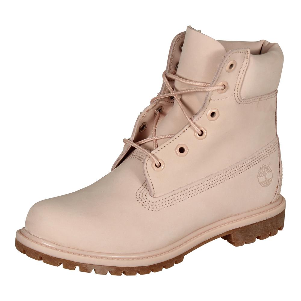 Timberland Damen Stiefel 6 Inch Premium Waterproof Boot Nubuk Mono LT pink | Modefreund Shop