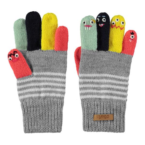 Barts Kinder Handschuhe Puppet Heather grey (grau)