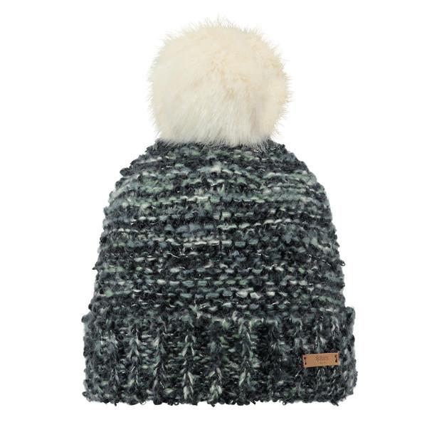 Barts Damen Mütze Siret Beanie Charcoal (mehrfarbig)
