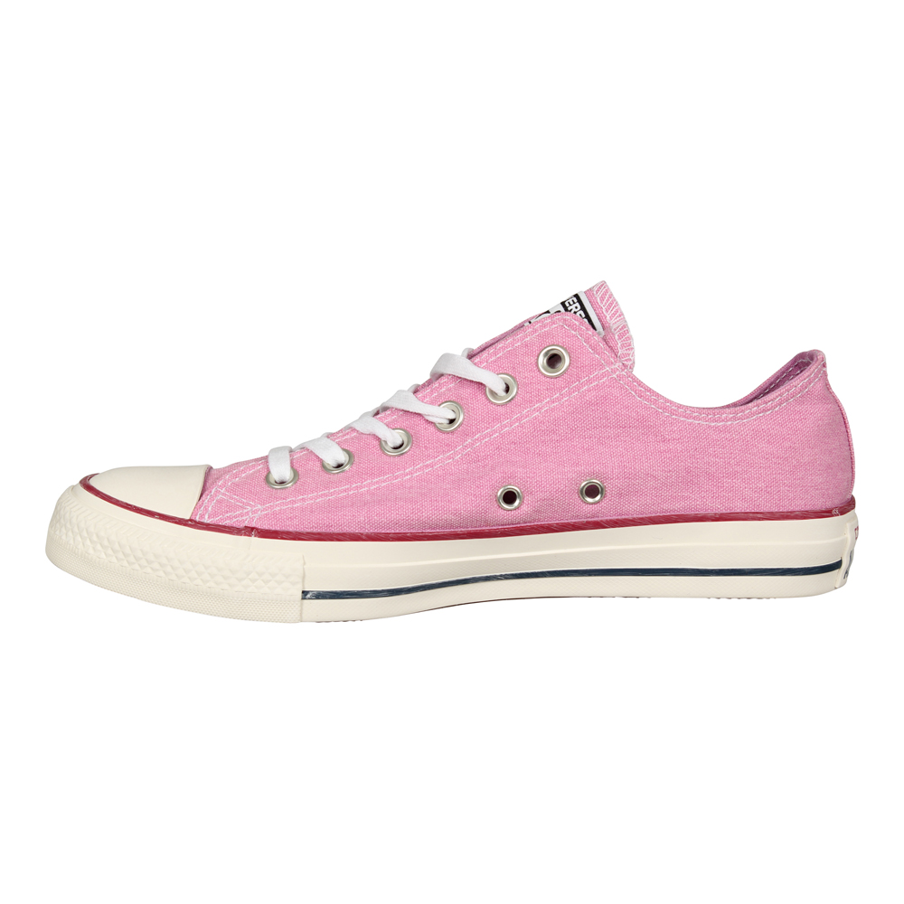 Details zu Converse Chucks Dainty CT AS OX 159542C Rosa Low Pale Coral Leinen