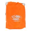 School-Mood Kinder Regenhülle für Ranzen Rain Cover orange