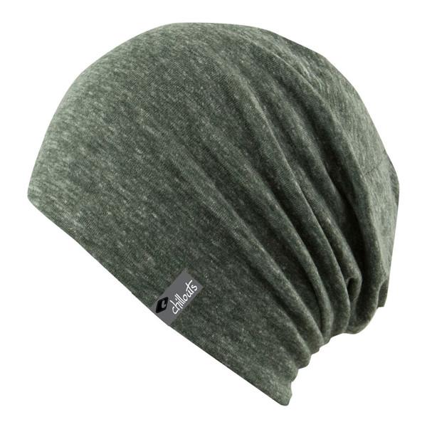 Chillouts Unisex Mütze Colombo Hat green melange (grün meliert)