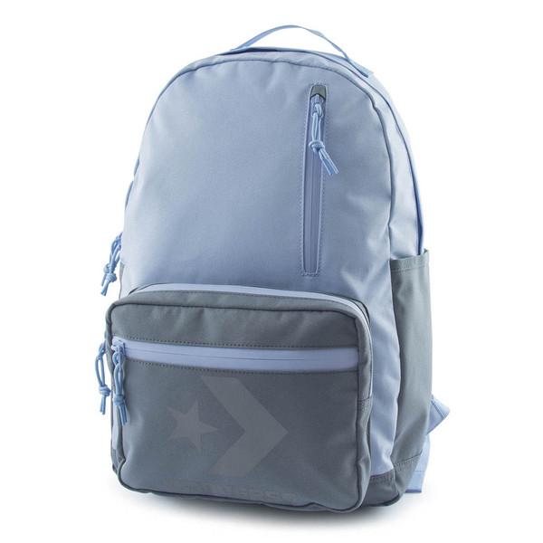 Converse Unisex Rucksack Block Essential Backpack Charcoal Grey (blau grau)