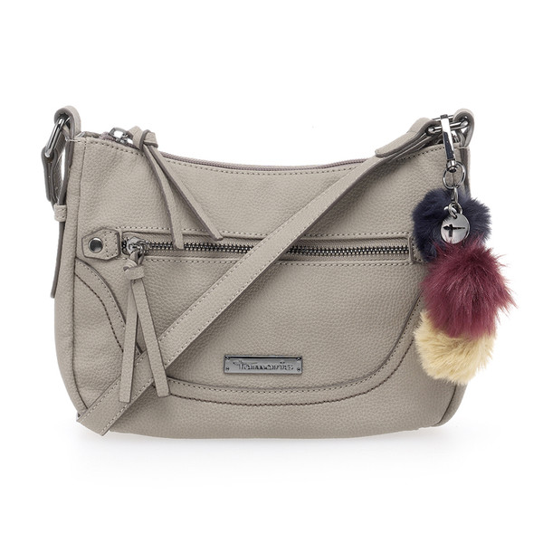 Tamaris Damen Handtasche MEI Crossbody Bag grau