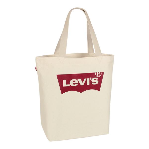 Levi's Unisex Tragetasche Shopper Bag Batwing Tote Ecru (creme weiss)