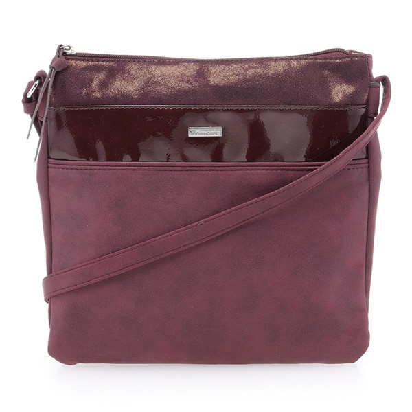 Tamaris Damen Tasche Khema Crossbody Bag bordeaux comb