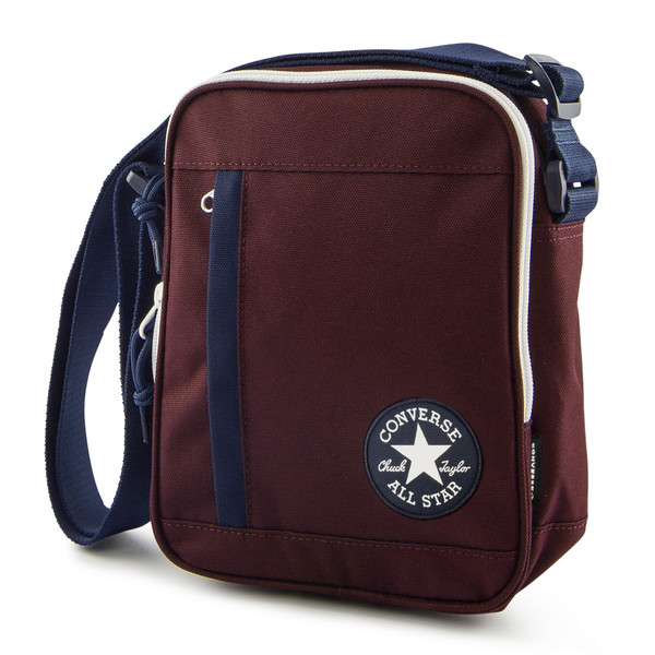 Converse Unisex Umhängetasche Poly Crossbody Bag Dark Burgundy (Bordeaux)